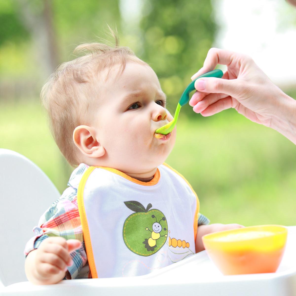 Receita de Papinha para Bebê de 6 meses