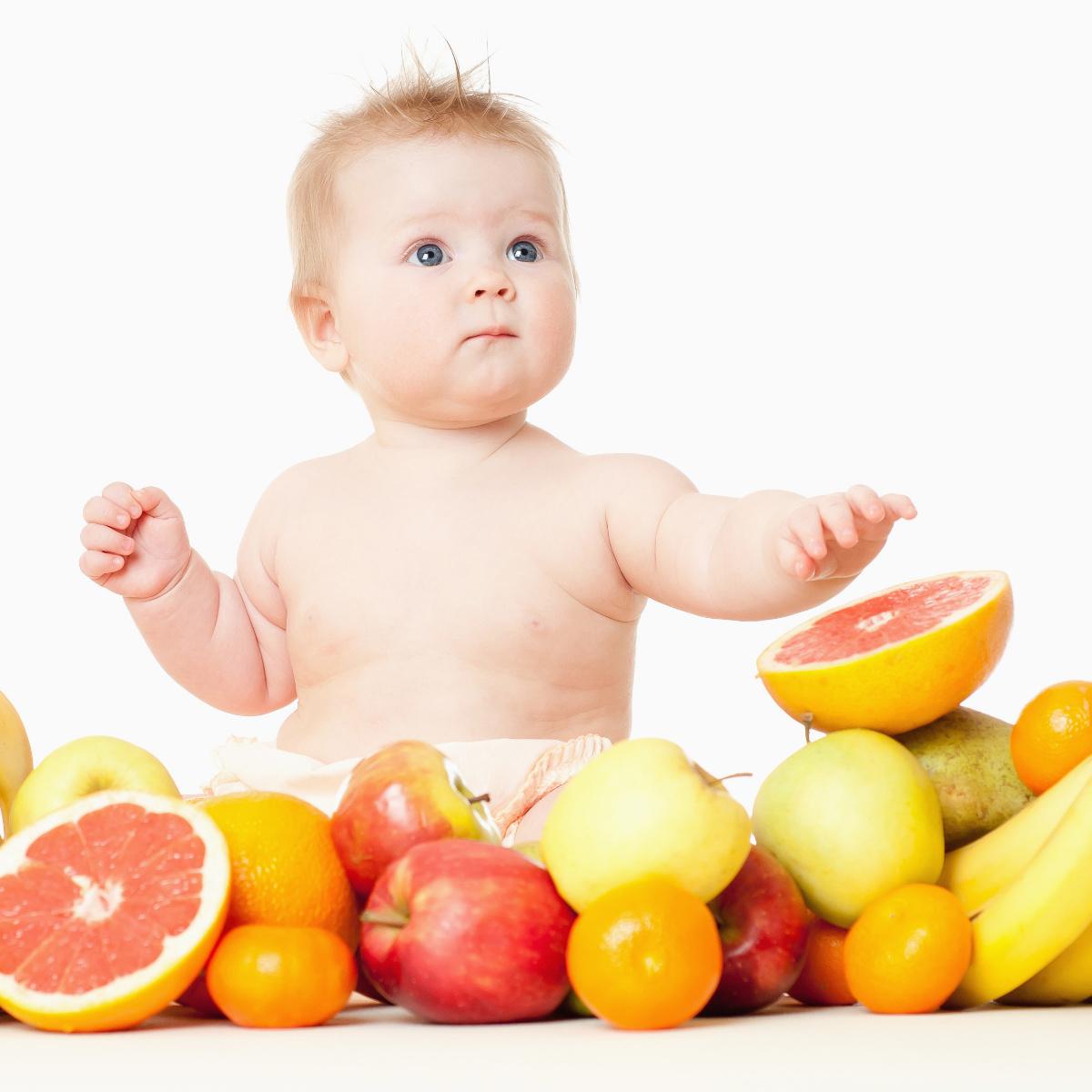 Os doze passos para a alimentação saudável de um bebê