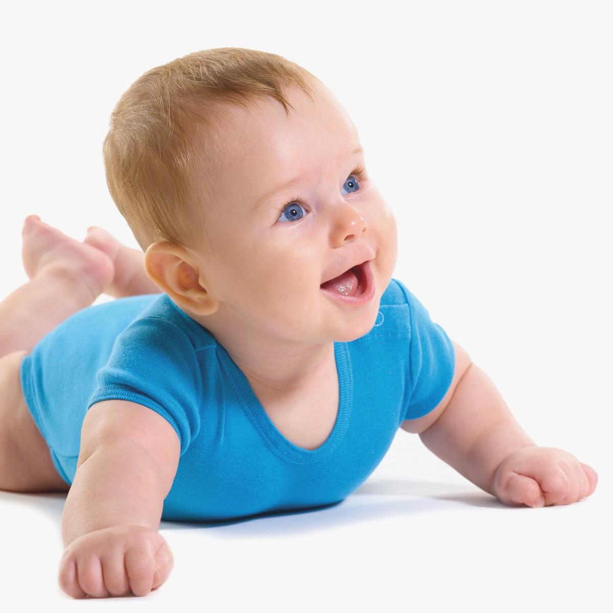 A coordenação motora dos bebês