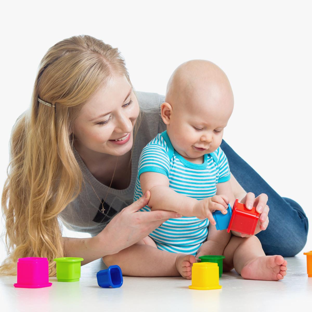 A importância dos brinquedos para o bebê