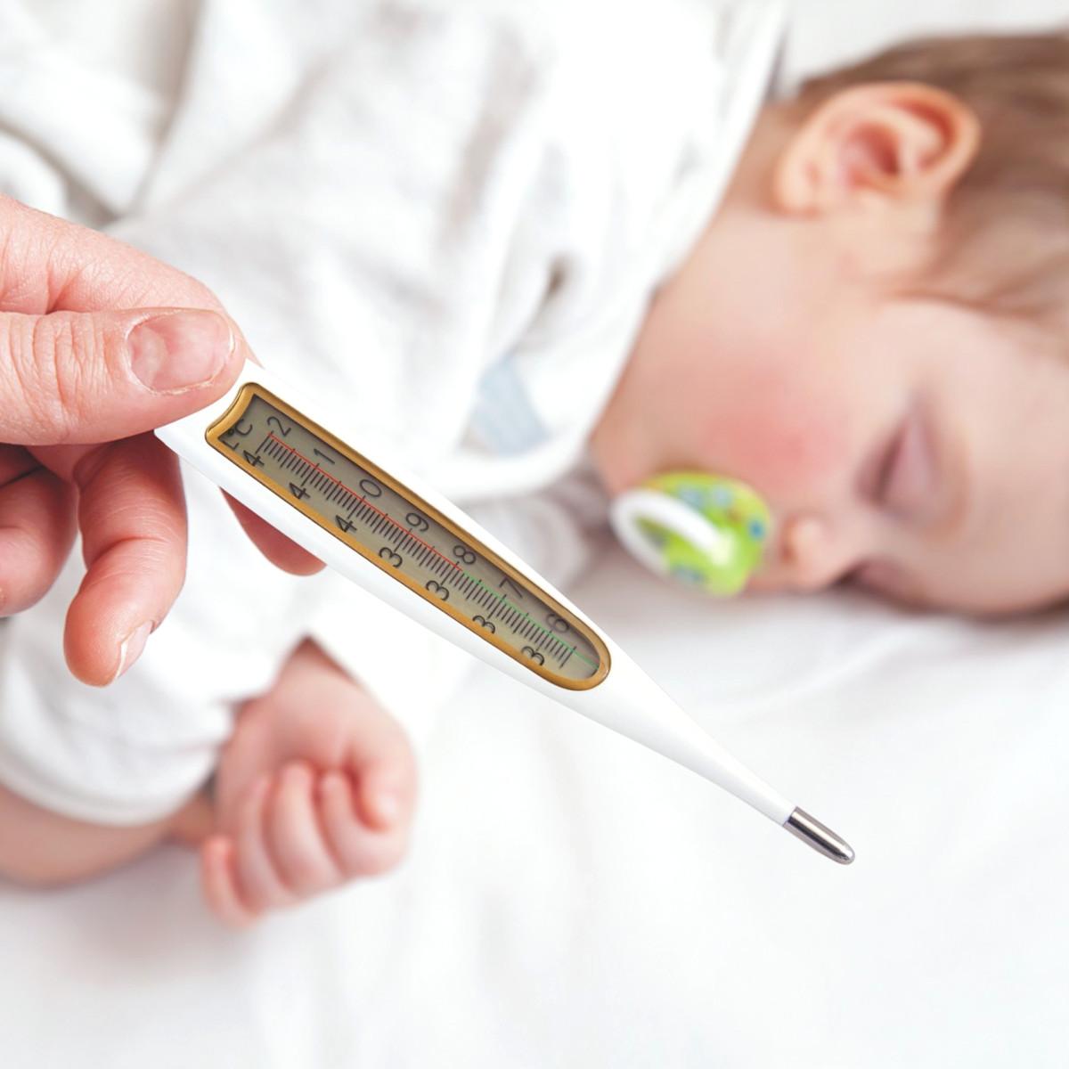 Febre no bebê