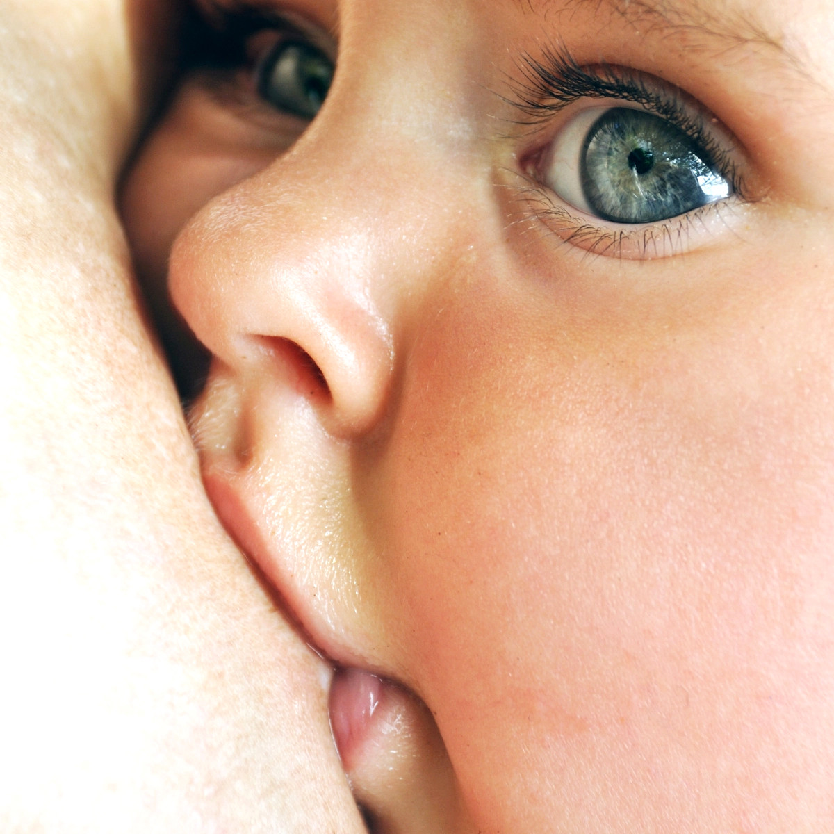 Qual a melhor posição para o bebê mamar